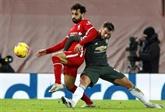 Angleterre : Manchester United résiste à Liverpool, City se rapproche