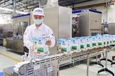 Vinamilk exporte un gros lots de produits laitiers vers la Chine