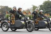 La force policière prête à assurer la sécurité du XIIIe Congrès national du Parti
