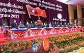 Le Front de la Patrie du Vietnam félicite le XIe Congrès national du PPRL