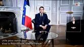 Les vœux de Macron suivis par 17,5 millions de Français