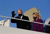 À la veille de son investiture, Biden rend hommage aux victimes du COVID-19