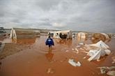 Syrie : la pluie transforme les camps de déplacés en