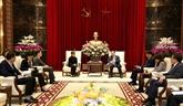 Hanoï souhaite promouvoir la coopération économique et commerciale avec Singapour