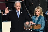Le nouveau président Biden est arrivé à la Maison Blanche