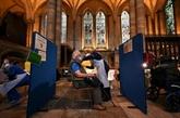La cathédrale de Salisbury ouvre ses portes à la vaccination