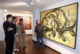 Une exposition sur le buffle àDà Nang