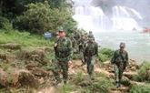 Les gardes-frontières de Dàm Thuy accompagnent les minorités ethniques locales