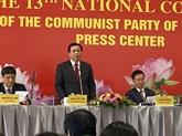 Le XIIIe Congrès national du Parti aura un nombre record de participants