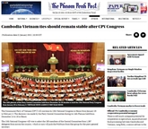 Le XIIIe Congrès national du PCV largement couvert par la presse étrangère
