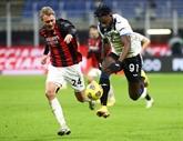 L'AC Milan étrillée par l'Atalanta mais championne d'hiver
