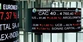 La Bourse de Paris chute de 1,57% sous l'effet de l'aversion au risque