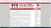 La séance inaugurale du XIIIe Congrès du Parti attire l'attention des médias du Laos
