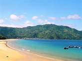 La beauté fantastique de la plage de Dai Lanh