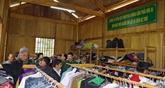La maison caritative des garde-frontières à Nghê An