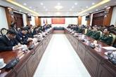 Renforcement des liens spéciaux entre les armées vietnamienne et laotienne