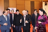 Rencontre de générations de députés de l'Assemblée nationale