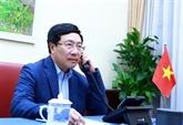 Conversation téléphonique entre Pham Binh Minh et Mike Pompeo
