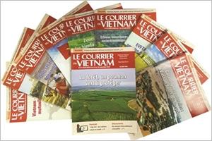 Les plus belles Unes du Courrier du Vietnam 2020