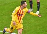 Le Barça remonte sur le podium après sa victoire à Bilbao