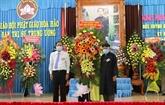 Célébration du 101e anniversaire de la naissance du fondateur du bouddhisme Hoà Hao