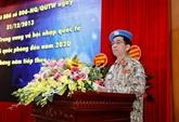 Le Vietnam envoie 179 soldats dans des opérations de paix sur la période 2012-2020