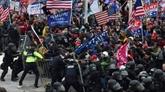 Mort d'un policier après les affrontements au Capitole à Washington D.C.