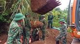 Efforts pour régler les conséquences des bombes et mines laissées par la guerre