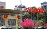 La capitale s'embellit pour le XIIIe Congrès national du Parti