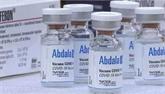 Approbation du financement pour l'achat de cinq millions de doses du vaccin Abdala