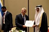 Israël inaugure sa première ambassade à Bahreïn
