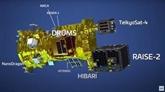 Le satellite NanoDragon n'a pas pu être placé en orbite comme prévu