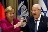 Angela Merkel en Israël pour sa tournée d'adieu