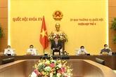 Le Comité permanent de l'Assemblée nationale se réunit à Hanoï