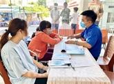 Hô Chi Minh-Ville prépare des aides pour le Têt en faveur des personnes impactées par le COVID-19