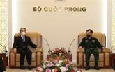 Le vice-ministre de la Défense Hoàng Xuân Chiên reçoit l'ambassadeur de Chine au Vietnam