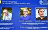 Le Nobel d'économie à un trio de spécialistes en