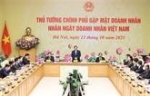 Le Premier ministre félicite les entrepreneurs vietnamiens pour leur Journée