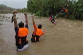 Philippines : un typhon fait neuf morts et onze disparus