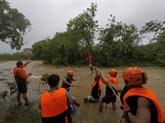 Philippines : 19 morts dans un typhon
