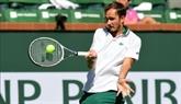 Indian Wells : Medvedev éliminé, Tsitsipas souffre mais se qualifie