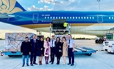Vietnam Airlines transporte des vaccins anti-COVID-19 depuis l'Europe