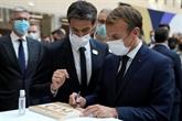 À moins de trois ans des JO de Paris, Macron veut