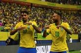 Foot : Neymar retrouve le sourire, doublé pour Raphinha