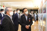 Exposition sur les relations entre la préfecture japonaise de Kanagawa et le Vietnam