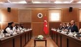 Le ministre turc des AE rencontre une délégation des talibans