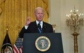 Biden signe un projet de loi pour éviter temporairement le défaut de paiement
