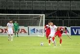 Match amical : l'équipe U22 du Vietnam bat 3-0 celle du Kirghizistan