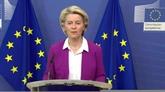 L'UE a exporté plus d'un milliard de doses de vaccins anti-COVID, selon von der Leyen