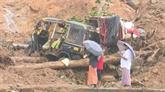 Inde : au moins 25 morts dans des inondations et glissements de terrains